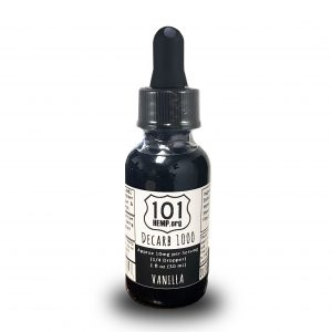 Decarboxylated CBD Oil