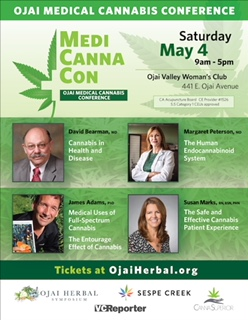101 CBD at first ever Ojai Medical Cannabis Conference