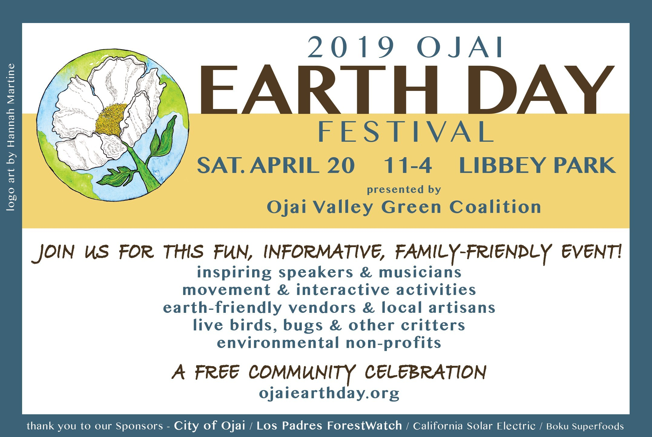 101 CBD at Ojai Earth Day Festival