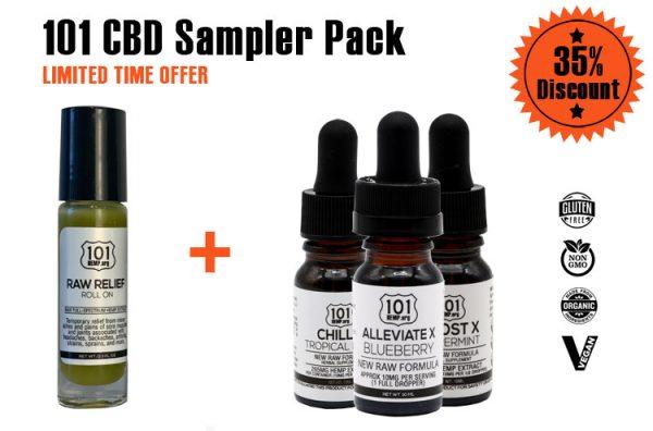 101 CBD Sampler Pack