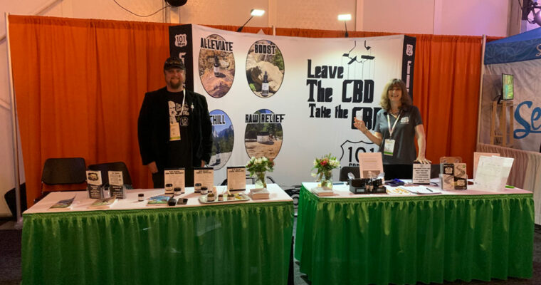 San Diego CBD EXPO Win-Win for 101 CBD!
