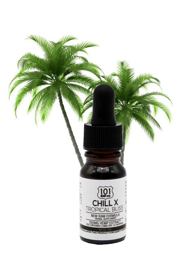 Chill Tropical Bliss 10ml CBD Oil