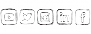 social accounts icons