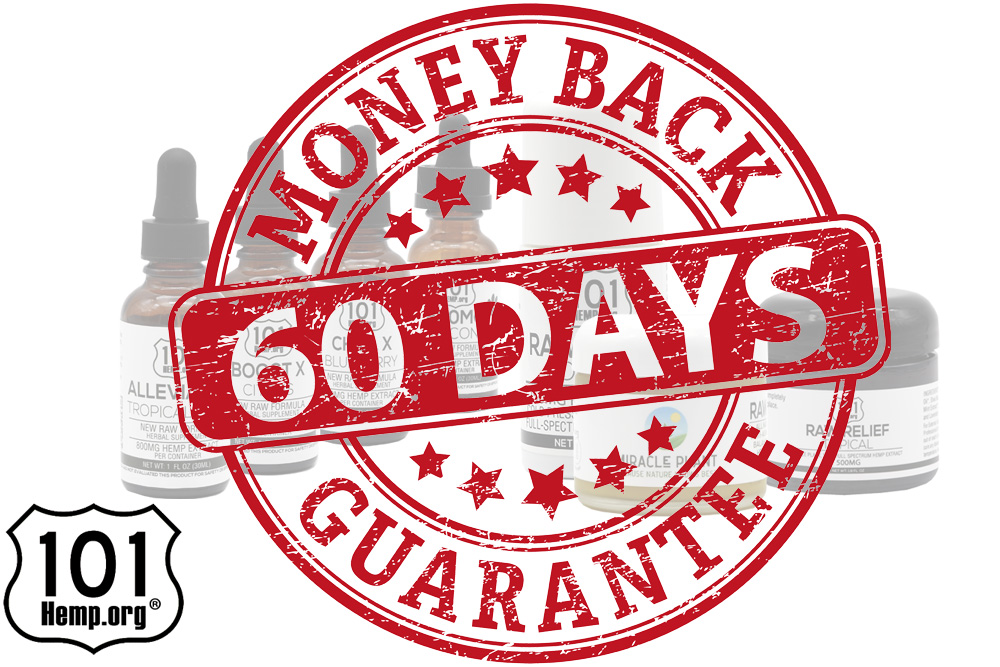 101% 60 Day Money Back Guarantee